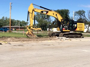 Construction Underway in Pilger