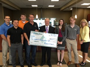 Midwest Bank raises $620 for LIBA Organization