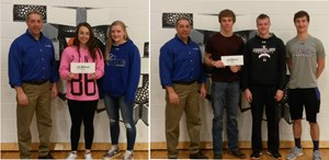 Midwest Bank Sponsors $3 for 3 Pointers at Deshler Public School