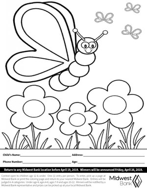 3rd Annual Coloring Contest!
